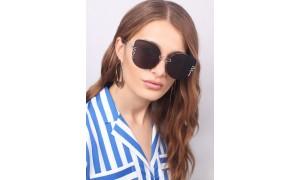 Очки солнцезащитные FAS Girlboss (Black)